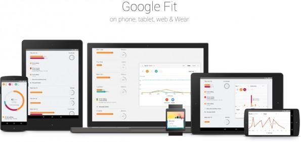 Egal ob Web, Tablet, Smartphone oder Wearable: Google Fit funktioniert auf allen Plattformen. (Bild: Google)