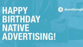 Happy Birthday: Drei Jahre Native Advertising im Überblick [Infografik]
