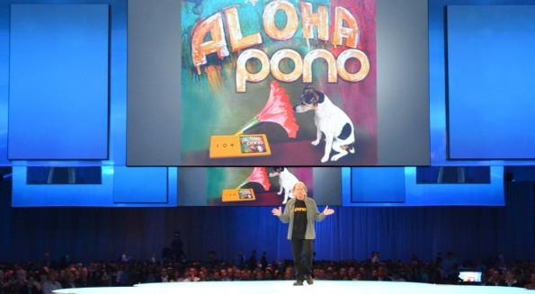 Neil Young präsentierte soeben seinen Pono Player und die dazugehörigen Dienste. (Foto: Jochen G. Fuchs)