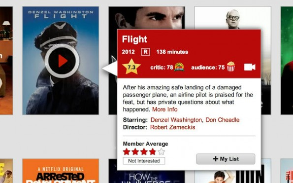 Der Netflix-Enhancer ergänzt das Filmabo um coole Features. (Screenshot: t3n)