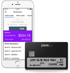 Plastc bringt eine High-Tech-Kreditkarte mit E-Ink-Display. (Foto: Plastc)