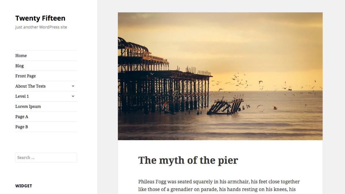 Twenty Fifteen: Das neue Standard-Theme für WordPress legt den Fokus auf Einfachheit und Typografie