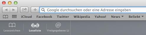 Noch ist Google die Standard-Suchmaschine in Safari. (Screenshot: t3n)