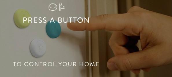 Bei Flic handelt es sich um kabellose Buttons, die sich mit einer Funktion eures Smartphones belegen lassen. (Bild: Flic)