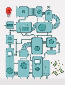 Mithilfe der richtigen Prozesse werden aus Ideen Innovationen. (Grafik: mustafahacalaki – istockphoto)