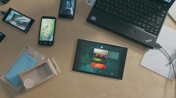 Die Macher wollen das Jolla-Tablet vor allem für Multitasking optimieren. (Foto: Jolla)