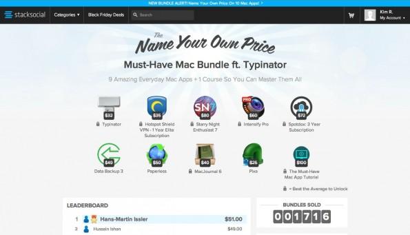 Mac-Bundle: Diese Apps gibt es zum Schnäppchenpreis. (Screenshot: Stacksocial)