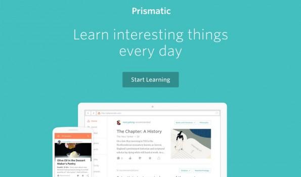 Ein weiterer News-Aggregator, der sich stark personalisieren lässt. (Screenshot: getprismatic.com)