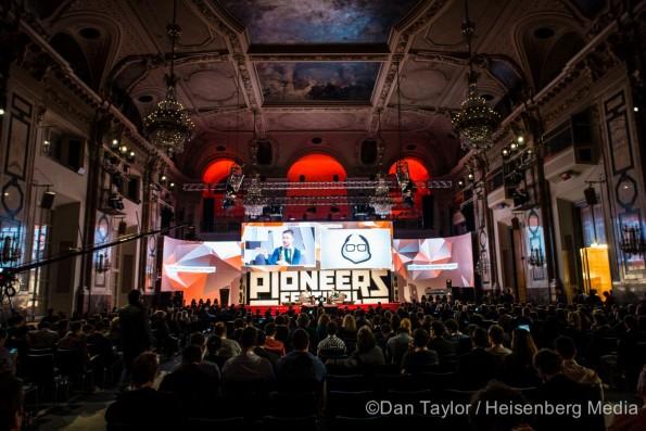 Das Pioneers Festival in Wien. (Foto: Dan Taylor / Heisenberg Media)