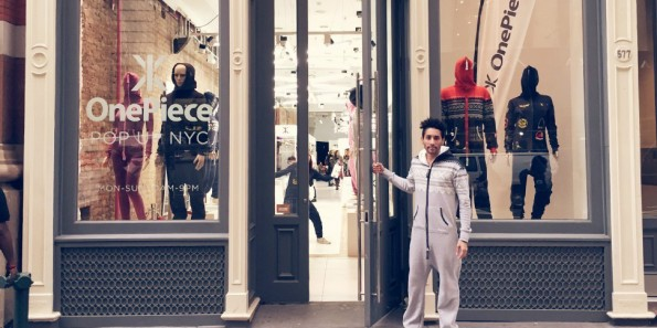 Im New Yorker Pop-up-Store von OnePiece kann man mit Social-Media-Kontakten zahlen. (Foto: OnePiece)