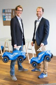 Die Gründer von Shäre: Christoph Nedopil und Daniel Valenti. (Foto: Shäre)