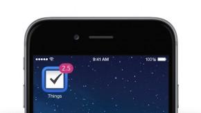 Aufgabenplaner Things vorübergehend kostenlos für iPhone und iPad