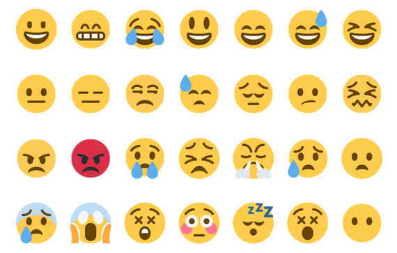 Twitter stellt seine Web-Emojis unter Open-Source-Lizenz. (Screenshot: WordPress.com)
