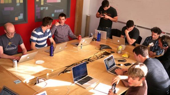 Auch bei Twilio weiß man seine Mitarbeiter kreativ zu fördern: Jeder Neuling muss eine eigene App entwickeln. (Foto: Twilio)