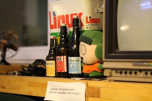 Selbst gebrautes Bier im Chaosdorf. (Foto: via flickr mit freundlicher Genehmigung von  fibre0815)