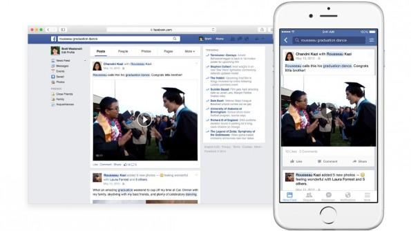 Facebook: Die neue Suche soll auch alte Beiträge auffindbar machen. (Grafik: Facebook)