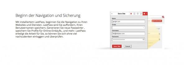 """Mit """"Auto Password Change"""" erstellt undverwaltetihr eure Passwörter. (Screenshot: lastpass.com)"""