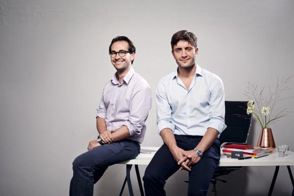 Auch ohne einen Sieg beim Startup-Pitch der LeWeb sind Franz Riedl und Philipp Rogge zuversichtlich, was die Zukunft von Styla angeht. (Foto: Styla)