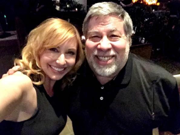 The Woz: Steve Wozniak und Kari Byron planen gemeinsame TV-Show. (Foto: Kari Byron/Twitter)