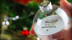 LED statt Kerzen: Kickstarter-Projekt Aura bringt WLAN-gesteuerte Christbaum-Beleuchtung