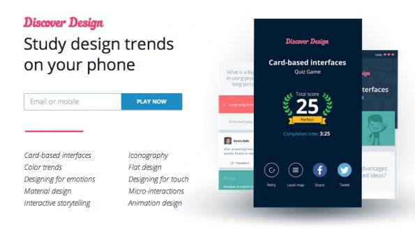 """""""Discover Design"""" vermittelt nämlich spielerisch Lerninhalte aus vielen verschiedenen Disziplinen. (Screenshot: playosh.com)"""