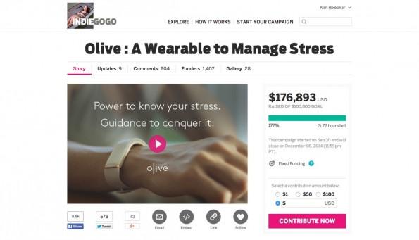 Crowdfunding: Indiegogo testet eine Versicherung für Backer. (Screenshot: Indiegogo)