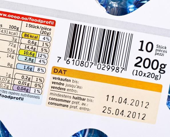 lebensmittelkennzeichnung