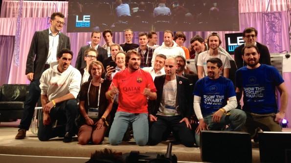 Die Zukunft der Digitalbranche: Teilnehmer der LeWeb-Startup-Competition in Paris. (Foto: t3n)