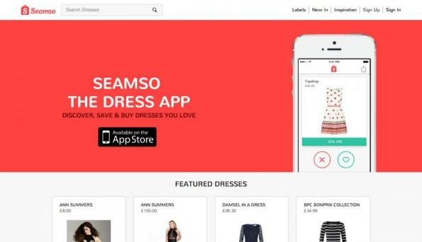 Das Tinder-Prinzip als Startup-Trend: Seamso. (Screenshot: t3n)
