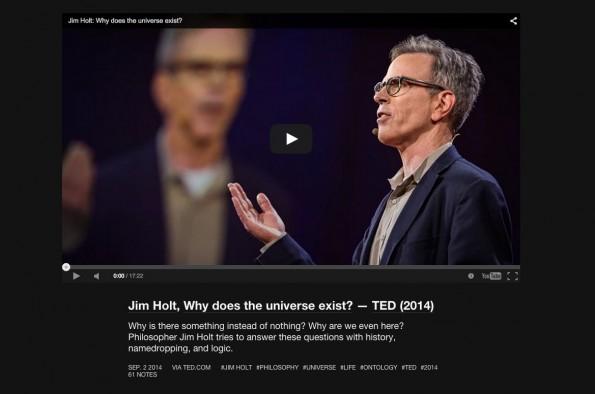 """Nicht witzig aber sehr empfehlenswert: Der Tumblr-Blog """"Great Talks"""". (Screenshot: Tumblr)"""