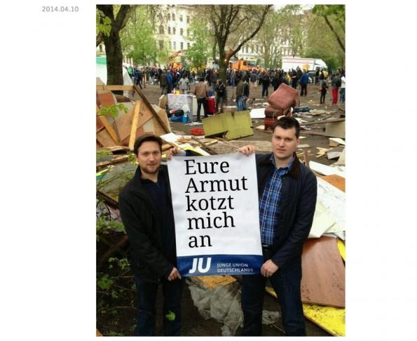 Auf Tumblr konnte die Junge Union 2014 keine Begeisterung verursachen. (Screenshot: Tumblr)