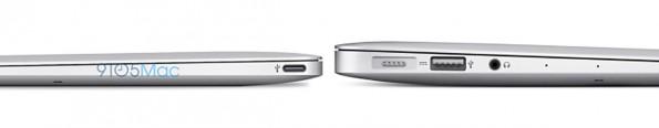 Das neue MacBook Air könnte durch die verminderten Schnittstellen und neue Prozessoren sogar dünner als 15 Millimeter werden. (Quelle: 9to5Mac.com)
