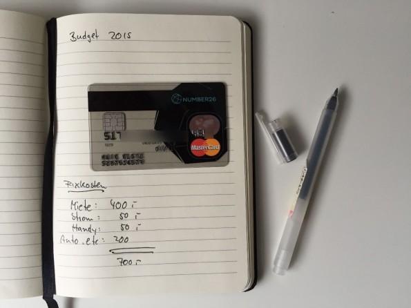 Number26 kommt mit einer Kreditkarte, aber ohne EC-Karte