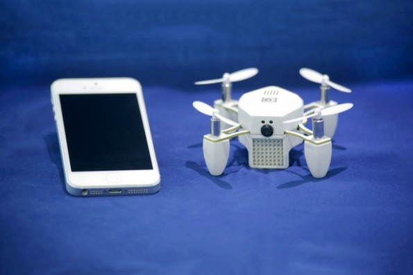 Trotz Millionen-Investitionen: Aus für die Mini-Drohne Zano.  (Foto: Torquing Group/Kickstarter)