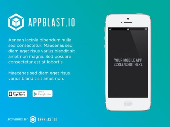 Marketing: AppBlast.io soll euch bei der Vermarktung eurer App helfen. (Screenshot: AppBlast.io)