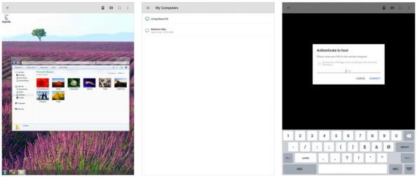 Chrome Remote Desktop: Mit der neuen iOS-App steuert ihr euren Mac oder PC per iPhone oder iPad. (Screenshot: App-Store)