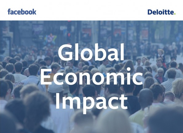 Facebook: Der Einfluss des Social-Networks auf die Weltwirtschaft. (Grafik: obs/Facebook)