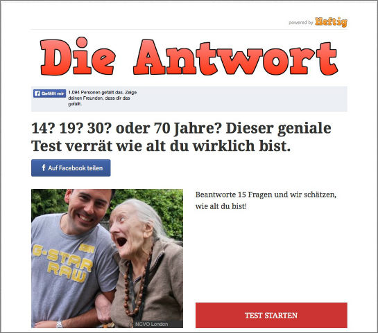 dieantwort_altertest