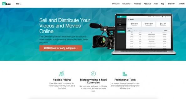 Die Suche nach Funding und einem Investor hat auch bei Gbox geklappt. (Screenshot: Gbox)