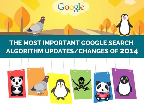 SEO 2014: Die wichtigsten Google-Updates. (Grafik: E2M)