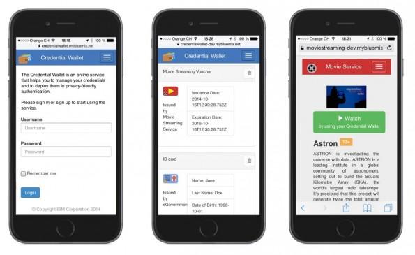 IBMs Identity Mixer soll eure Identität im Internet schützen. (Grafik: IBM)