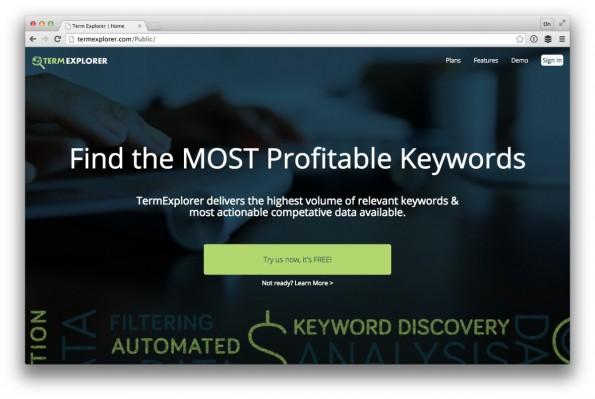 Eines der besten Keyword-Tools der SEO-Szene. (Screenshot: termexplorer.com)