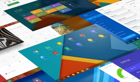 Das Design,  Farbgebung und Taskleiste erinnern ein Wenig an Windows (Screenshot: www.jide.com)