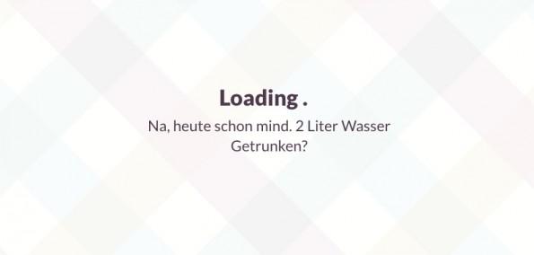 UX-Design: Slack macht Ladezeiten dank kleiner Sprüche erträglicher. (Screenshot: Slack)