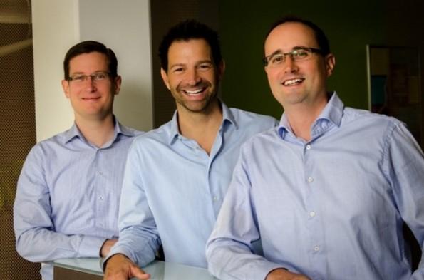 Die Gründer von smapOne: Thomas Schawrtz, Sven Zuschlag und Jan Zimmerman (v.l.n.r)(Screenshot: deutsche-startups.de)