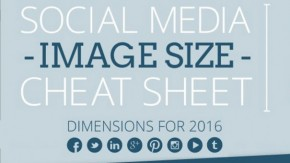 Von Facebook bis YouTube – alle Social-Media-Bildgrößen für 2016 im Überblick [Infografik]
