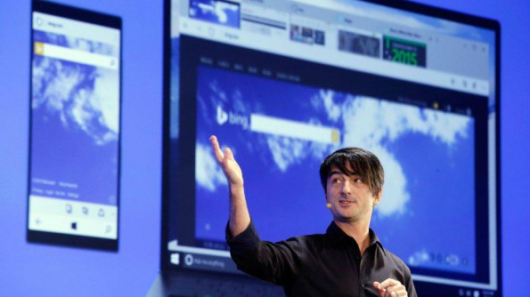 Microsoft hat am Mittwoch mit Spartan den Nachfolger des Internet Explorers vorgestellt. (Foto: Quartz