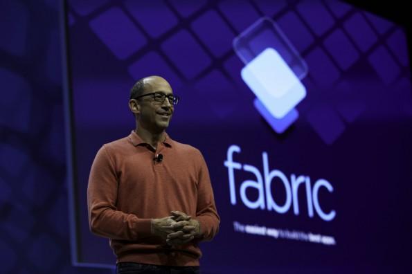 Twitter-Chef Dick Costolo stellt Fabric auf der Flight-Konferenz vor. (Foto: Marla Aufmuth/Twitter, Inc.)