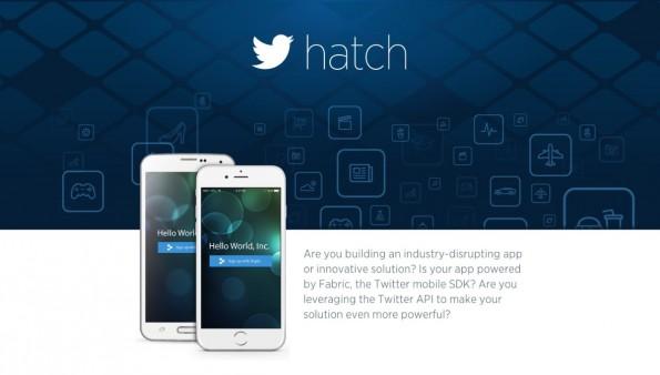 Mit Hatch will Twitter die besten App-Entwickler an sich binden. (Screenshot: hatch.io)