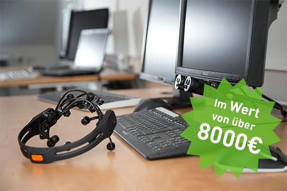 Passend zur u-conference gibt es ein Gewinnspiel mit einem Preis im Wert von über 8.000 Euro. (Foto: Arrabiata)